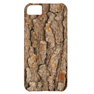 Pine Bark Texture iPhone 5C Covers