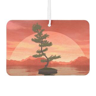 Pine bonsai - 3D render Air Freshener