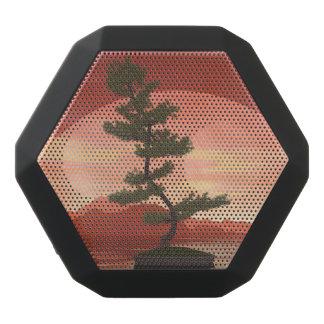 Pine bonsai - 3D render Black Bluetooth Speaker