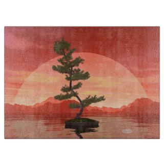 Pine bonsai - 3D render Boards
