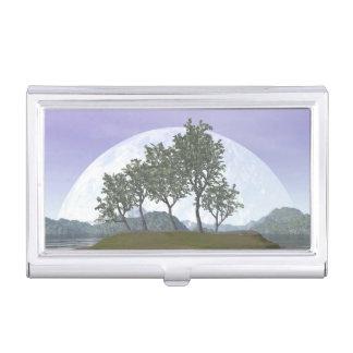 Pine bonsai - 3D render Business Card Holder
