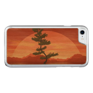 Pine bonsai - 3D render Carved iPhone 8/7 Case