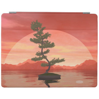 Pine bonsai - 3D render iPad Cover