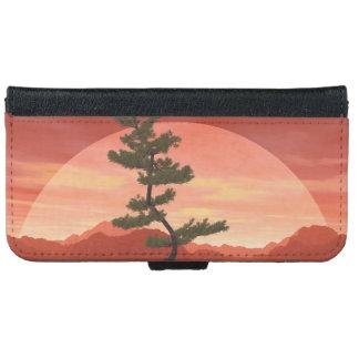 Pine bonsai - 3D render iPhone 6 Wallet Case