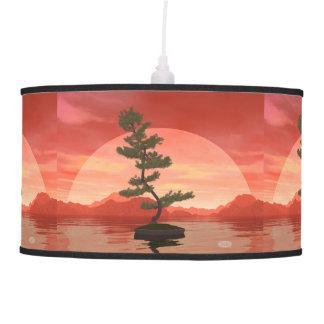 Pine bonsai - 3D render Pendant Lamp