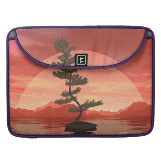 Pine bonsai - 3D render Sleeve For MacBooks
