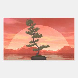 Pine bonsai - 3D render Sticker