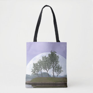 Pine bonsai - 3D render Tote Bag