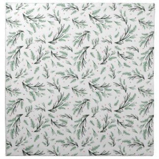 Pine Bough Cloth Napkins