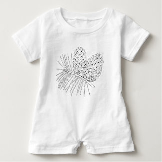 Pine Branch Two Baby Romper