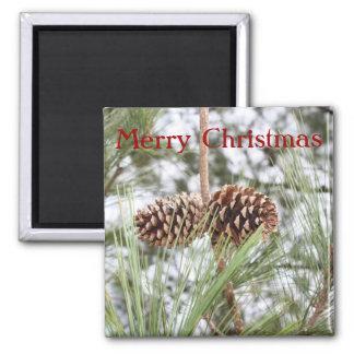 Pine Christmas Magnet