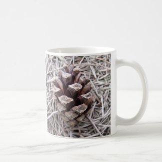 Pine Cone And Pine Needles Classic White Coffee Mug