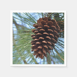 Pine Cone Disposable Napkins