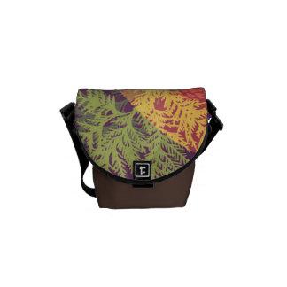 Pine Cone Flair Messenger Bag