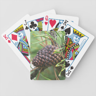 Pine Cone in Yellowstone Bicycle Playing Cards