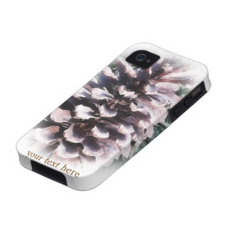 Pine Cone iPhone 4 Tough Personalized Case-Mate Ca iPhone 4/4S Covers