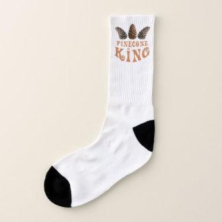 Pine cone king socks