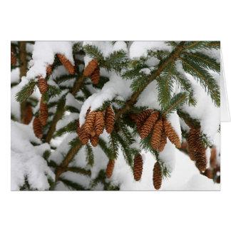 Pine Cone Notecard