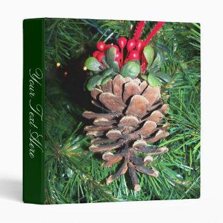 Pine Cone Ornament Binder