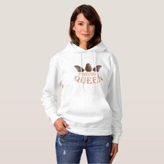 Pine cone queen hoodie