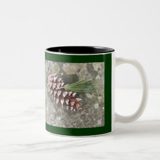 Pine Cone & Tassel Mug