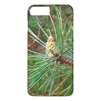 Pine cone tree needles photograph iPhone 8 plus/7 plus case