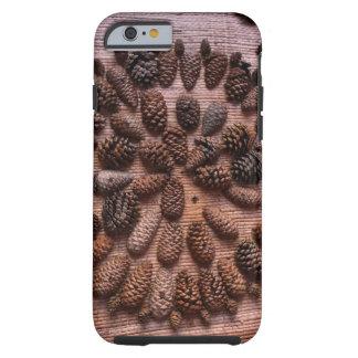 Pine Cones mandala photo  iPhone 6/6s, Tough Tough iPhone 6 Case