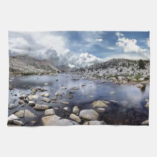 Pine Creek Pass - Sierra Nevada Mountains Hand Towels