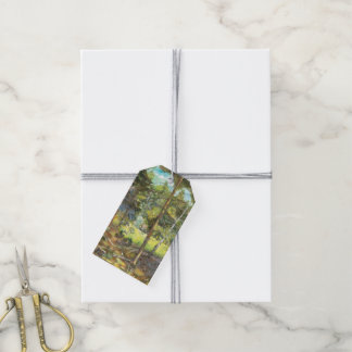 Pine forest gift tags