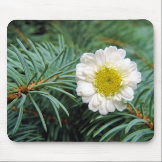 Pine Fresh Daisy Mouse  Pad Mouse Pad