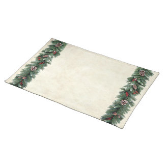 Pine Garlands Placemat
