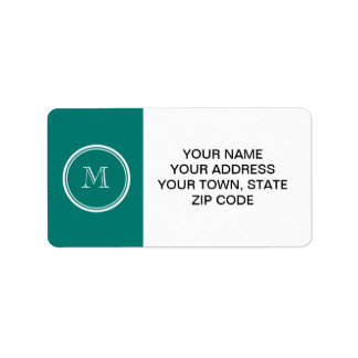 Pine Green High End Colored Monogrammed