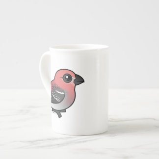 Pine Grosbeak Porcelain Mug