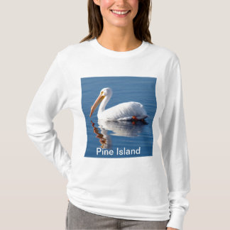 Pine Island Pelican Long Sleeved T-Shirt