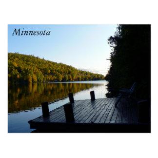 Pine Lake Minnesota Dockside Postcard