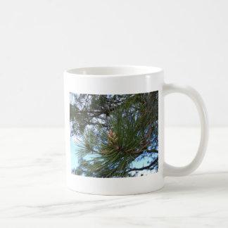 Pine Needles and Branches Coffee Mug