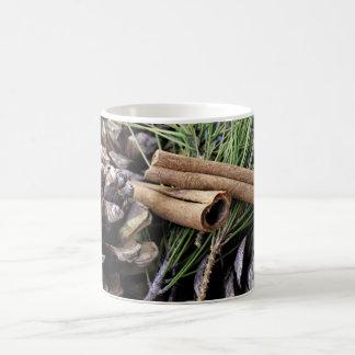 Pine Needles and Cinnamon Mugs
