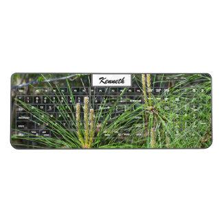 Pine Needles by Kenneth Yoncich Wireless Keyboard
