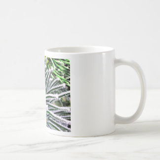 pine needles classic white coffee mug