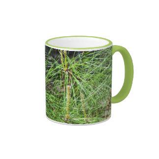 Pine Needles Ringer Mug