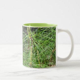 Pine Needles Two-Tone Mug