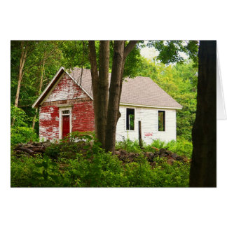 Pine Orchard Schoolhouse notecard