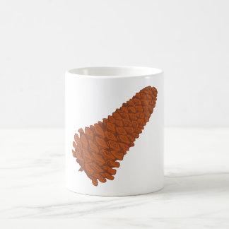 Pine tap pine cone coffee mug