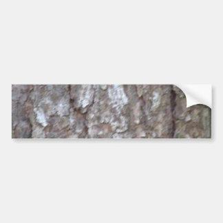 Pine Tree Bark Camo Natural Wood Camouflage Nature Bumper Sticker