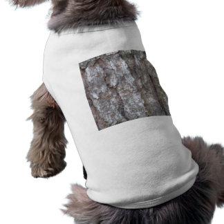 Pine Tree Bark Camo Natural Wood Camouflage Nature Doggie Tshirt