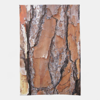 Pine Tree Bark Kitchen Towel