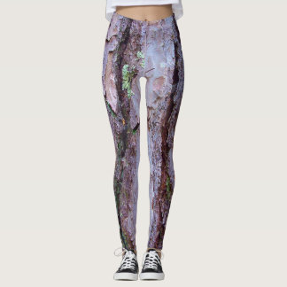 Pine Tree Bark Leggings