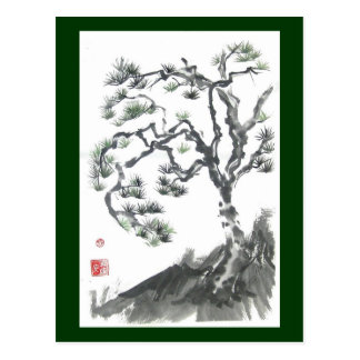 Pine Tree Dance Postcard