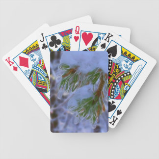 Pine Tree - Lumi Bicycle Playing Cards