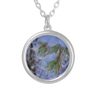 Pine Tree - Lumi Silver Plated Necklace